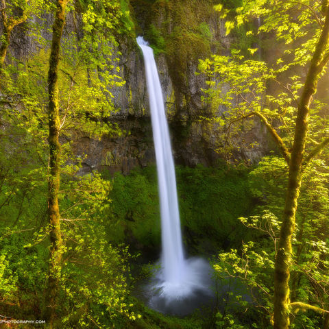 oregon, columbia river gorge, elowah falls