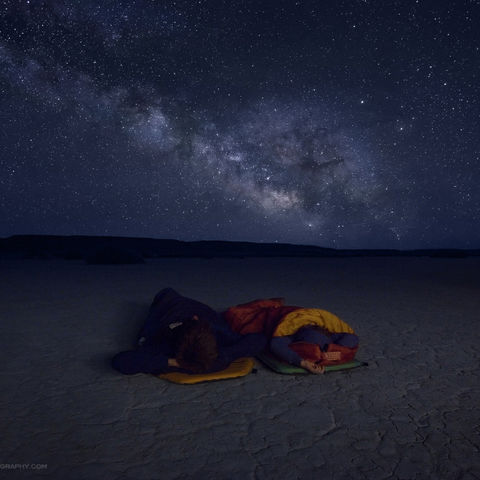 oregon, night, stars, alvord, desert