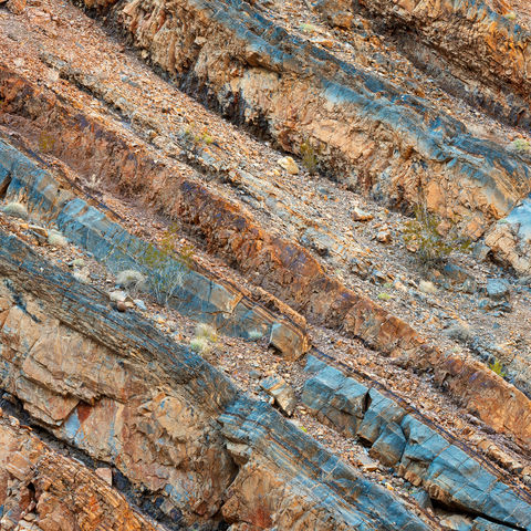 rock, strata, death valley, national park, california, stratum