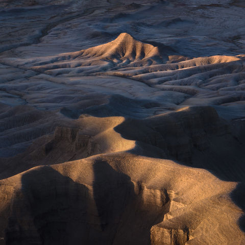 utah, badlands, sunset, warm, light, colorado plateau, desert