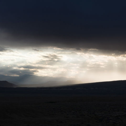 storm, light, clouds, utah, desert, colorado plateau