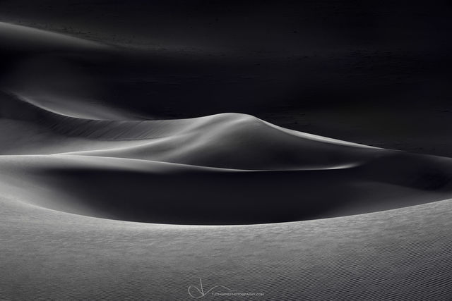 sand, dunes, death valley, national park, california