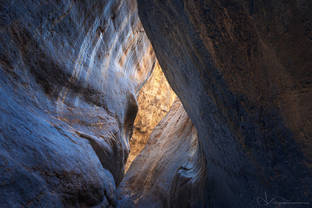 canyon, death valley national park, california, glow