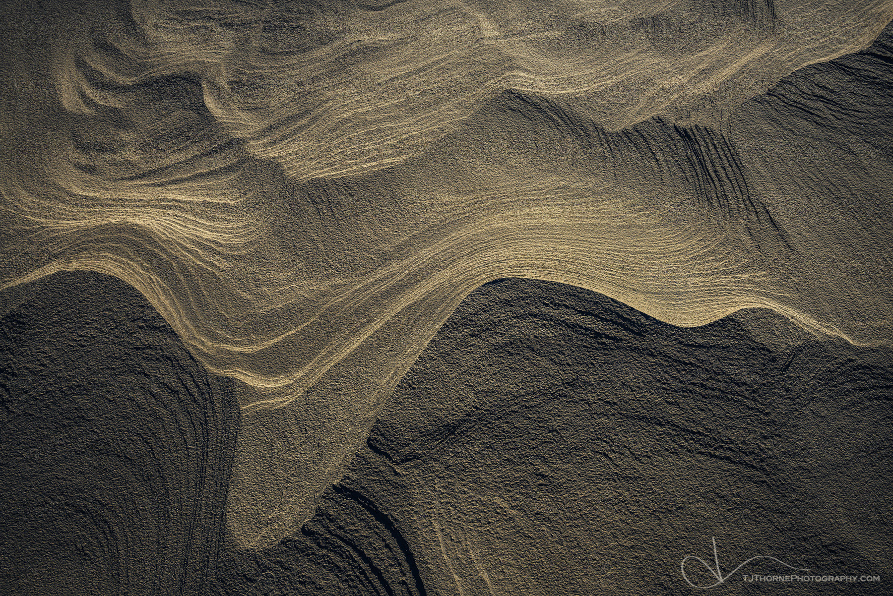 FINE ART LIMITED EDITION OF 100 A sandstone abstract in Death Valley National Park, California. This is an interesting image...
