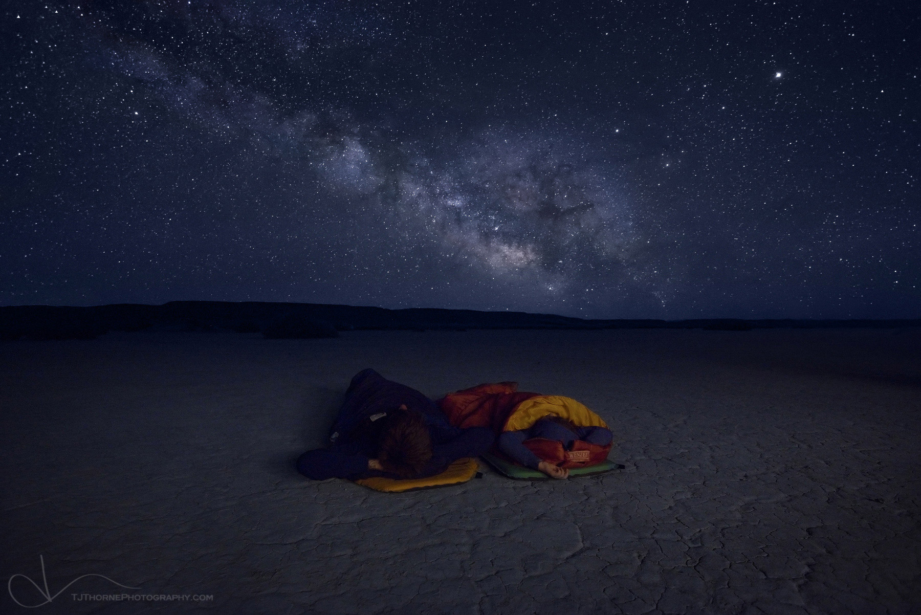 oregon, night, stars, alvord, desert, photo