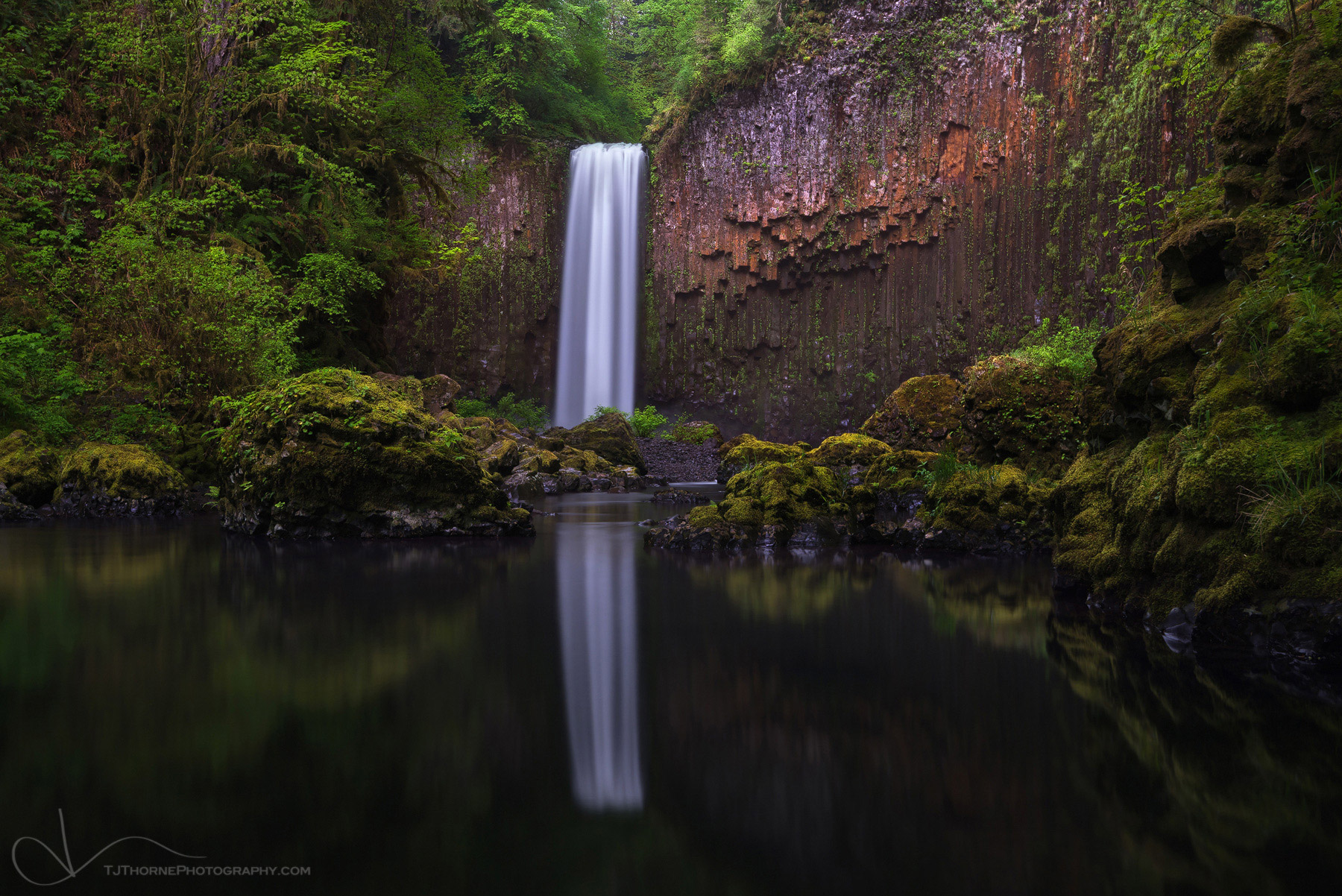 abiqua falls, oregon, photo