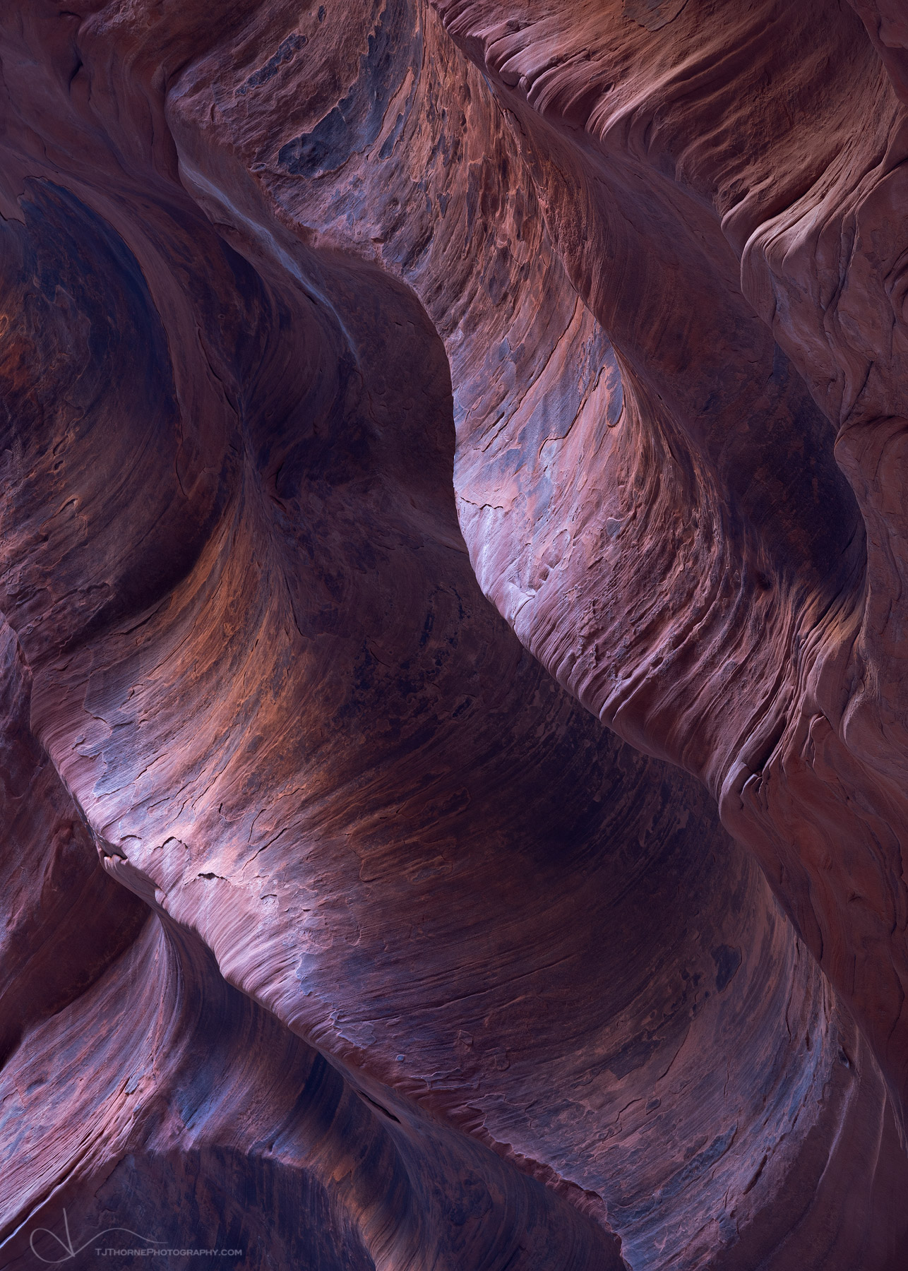 FINE ART LIMITED EDITION OF 100 An abstract of light on the canyon wall of Buckskin Gulch, Vermillion Cliffs Wilderness, Utah...