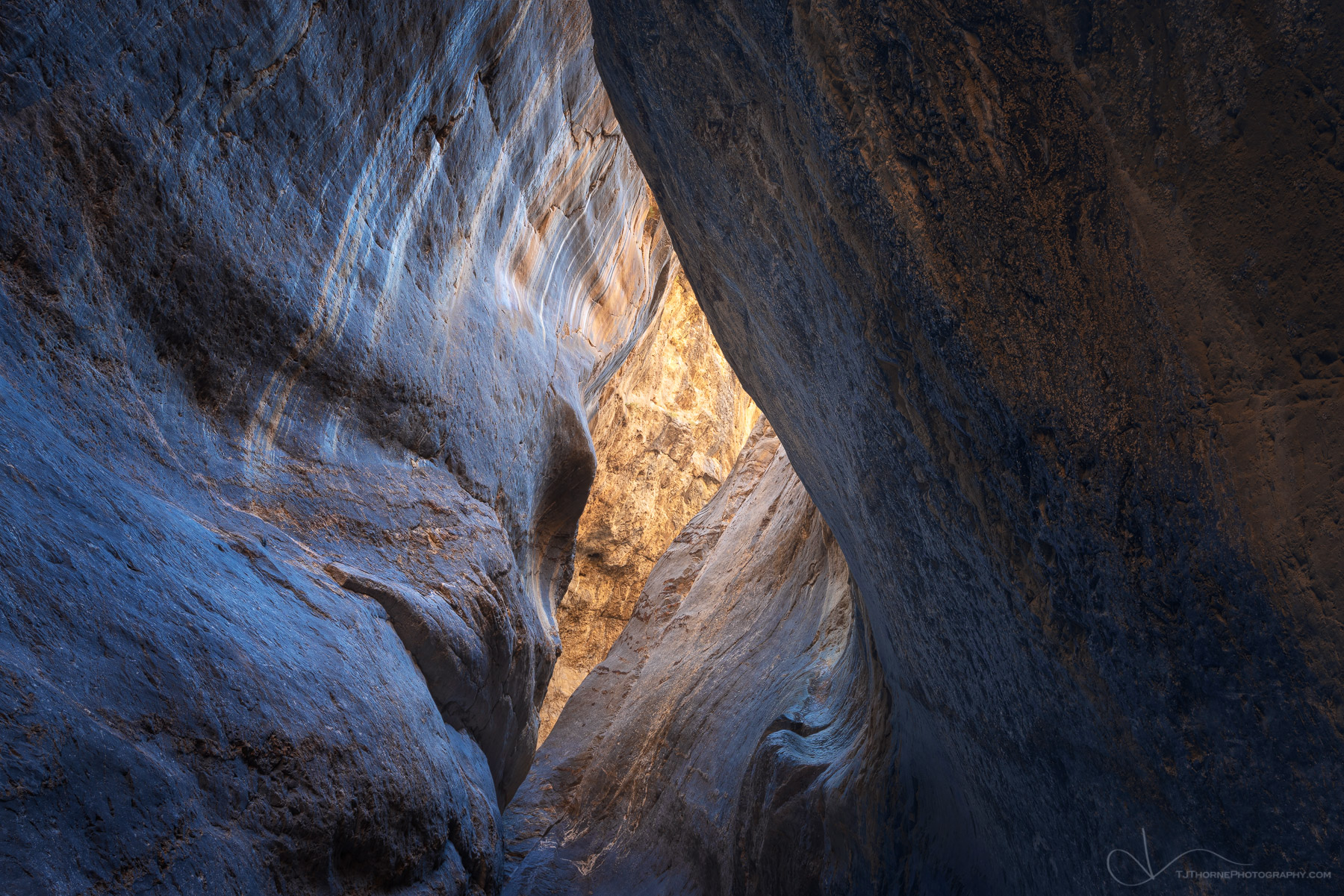 canyon, death valley national park, california, glow, photo