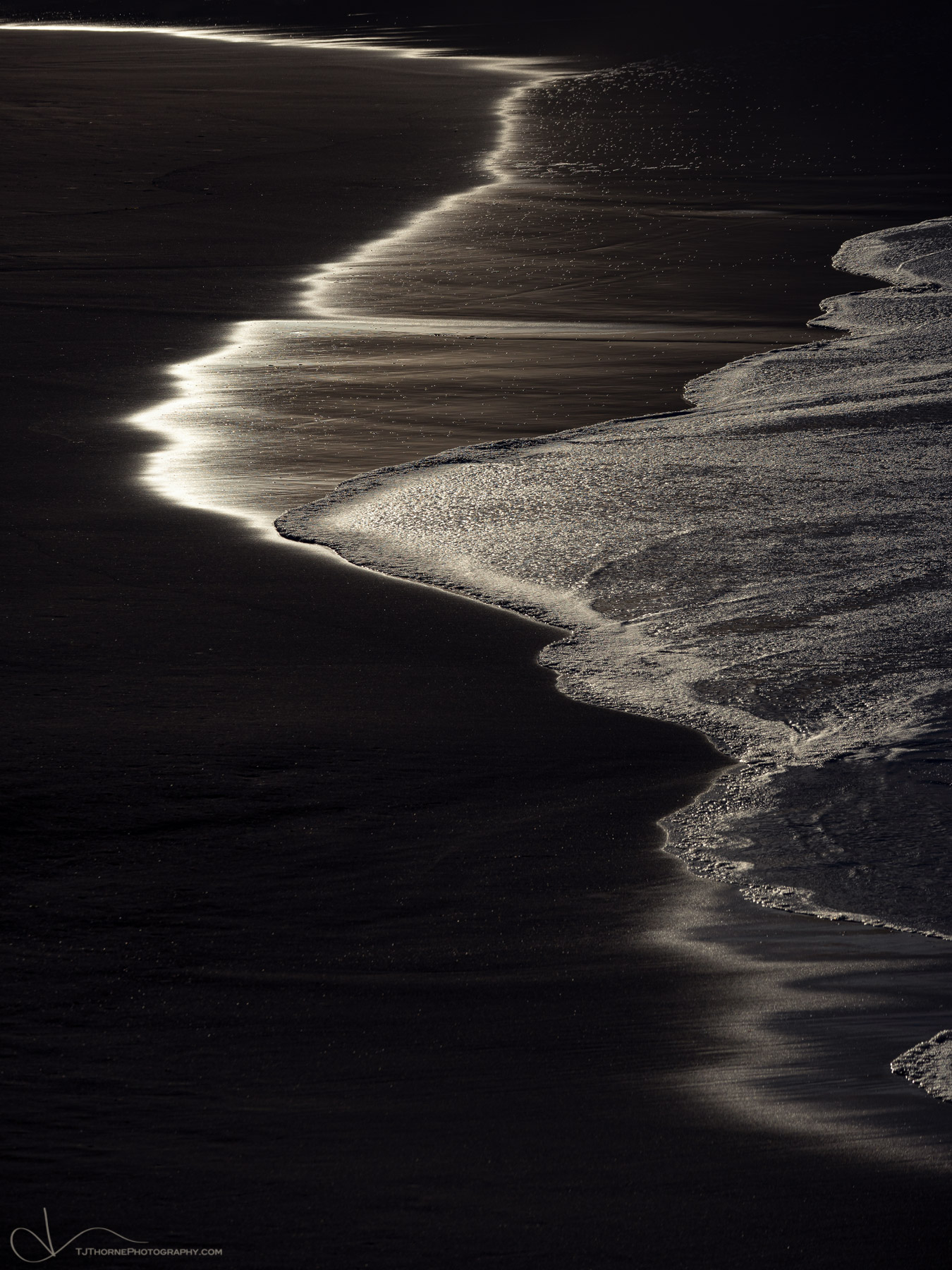 morning, sand, beach, oregon, photo
