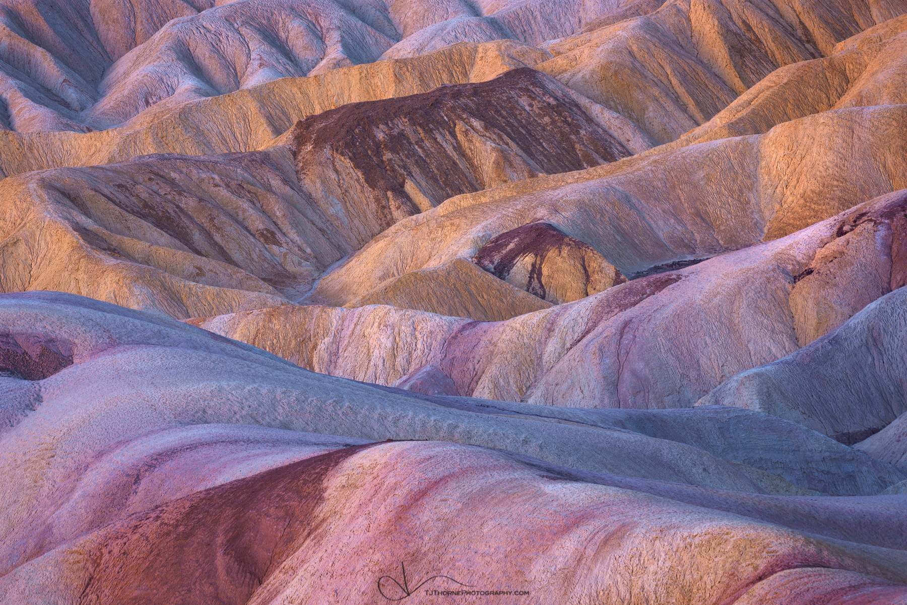 badlands, zabriskie, death valley, california, color, national park, photo